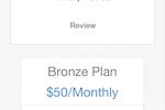 Membership Integrity System screenshot: Membership Integrity System membership plans