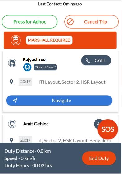 MoveInSync Driver Application