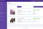 CoachVantage screenshot: Create different events so your prospects/clients can schedule appointments with you online, based on your availability rules.