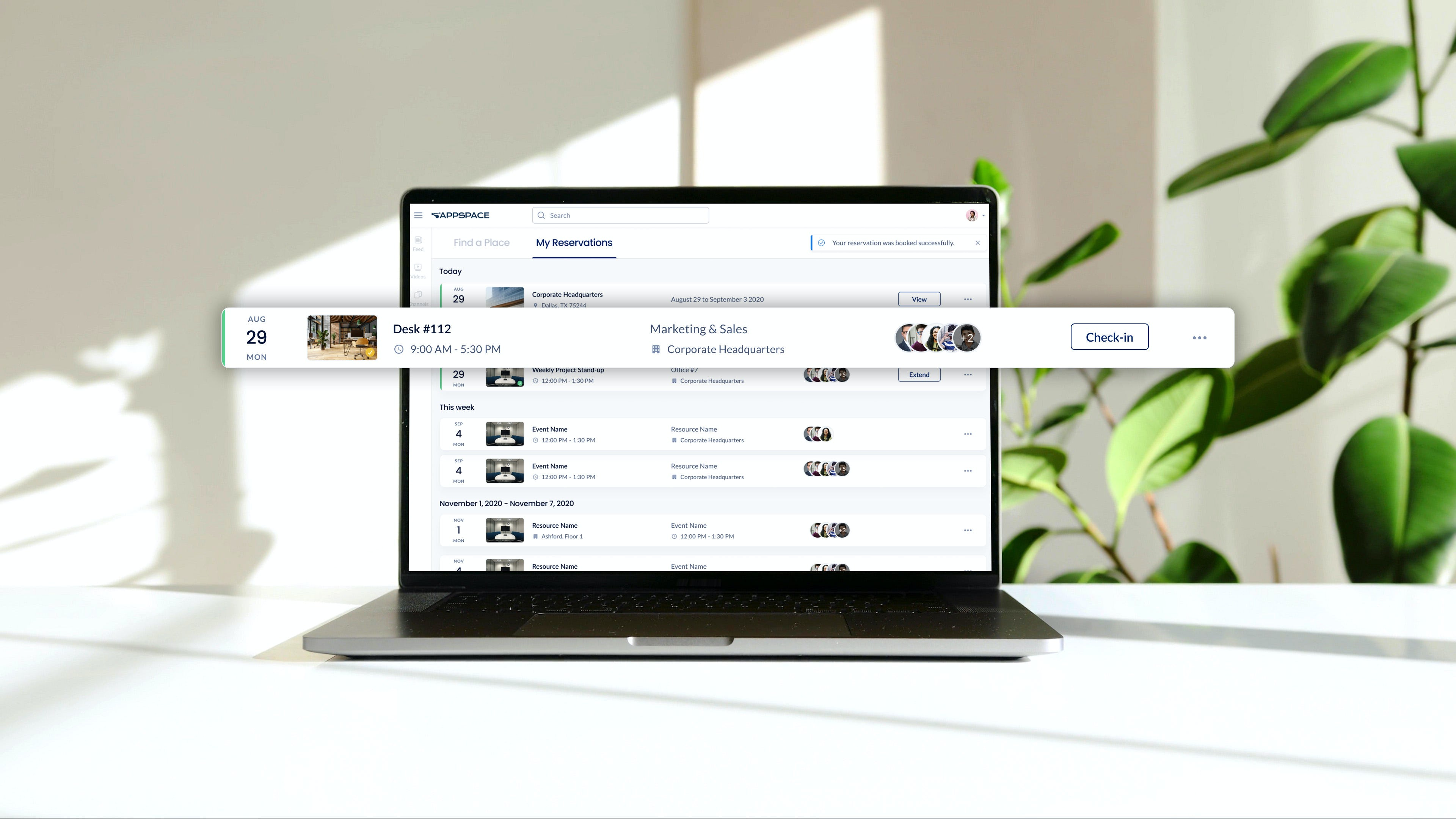 Appspace Software - Space and desk reservation tools to help manage your office.