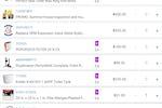 FieldPlus screenshot: Price Book
