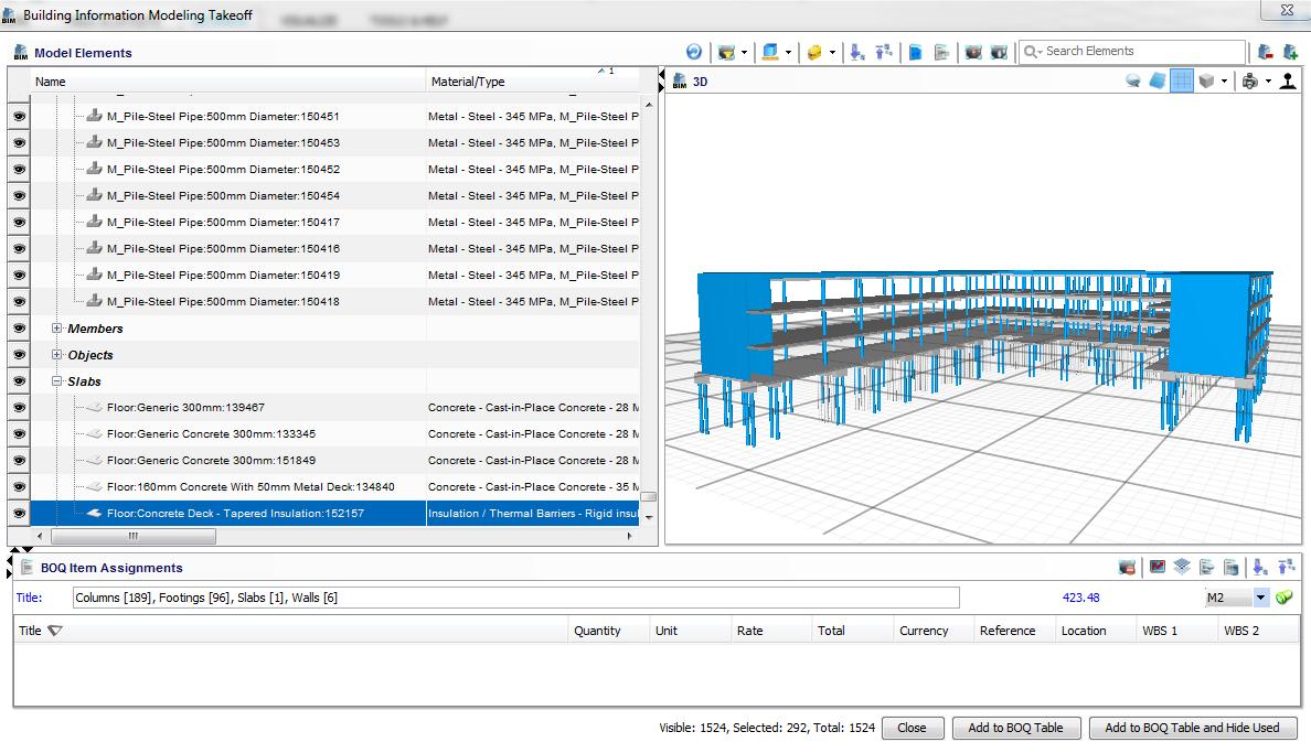 ARES PRISM Software - ARES Prism building model