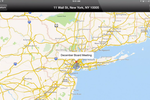 Directorpoint screenshot: View board meeting locations on a map