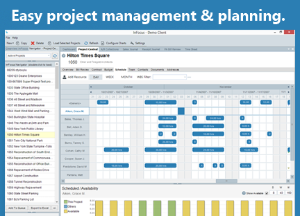 Unanet A/E Software - Full-featured