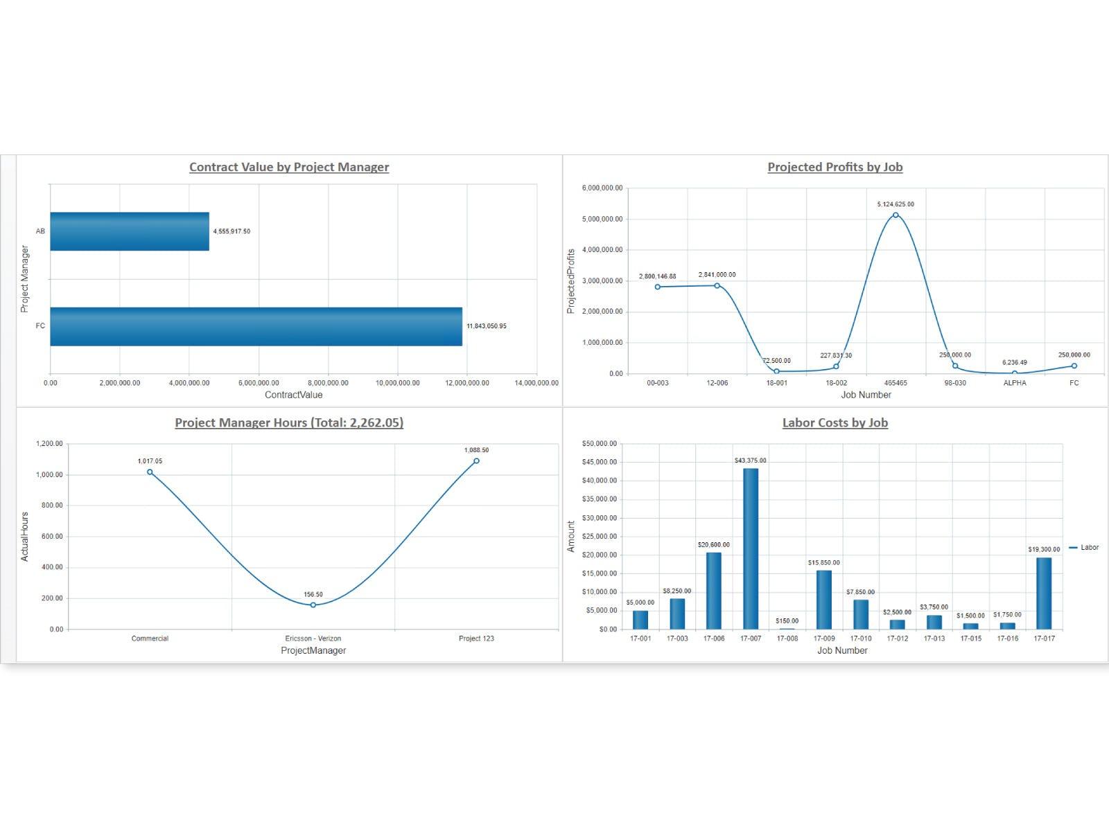 Jonas Enterprise Software - Jonas Enterprise analytics