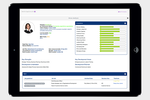 Talent Successor screenshot: Talent profiles can be created and maintained to keep track of an individual's personal and career information