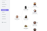 Factorial Screenshot: The organizational chart generator collects team data and displays an accurate org chart for the company