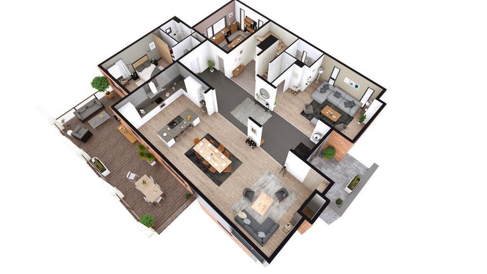 Cedreo Software - Cedreo 2D Floor Plan