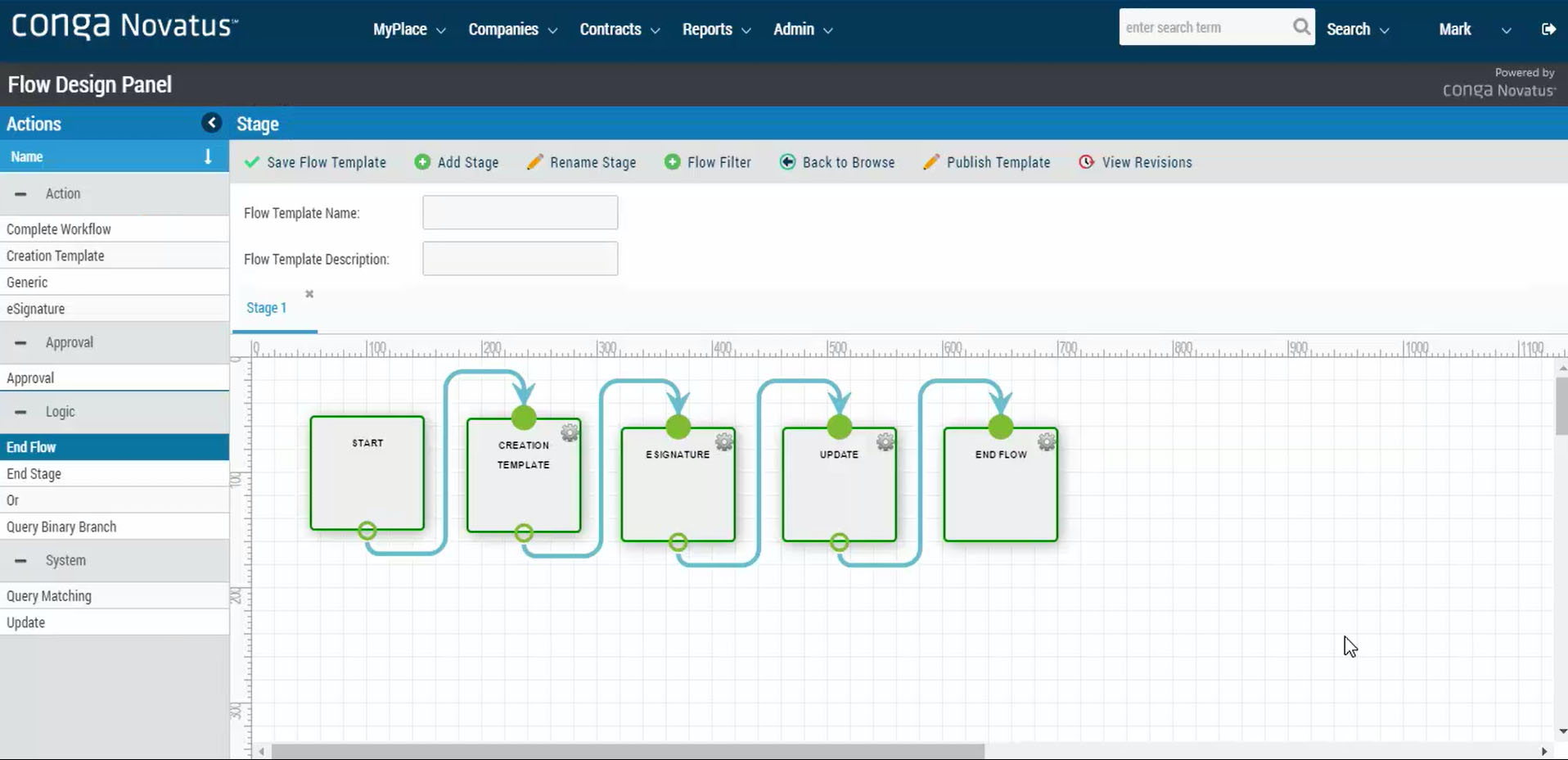 Extensive workflow capabilities to set and track approvals and contract routing .