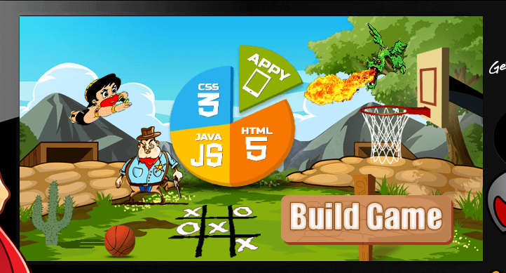 Appy Pie Software - Game builder example