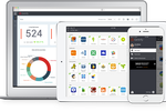Centrify Identity Service screenshot: Centrify Application Services - App Access & Monitoring From Any Device