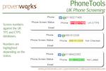 PhoneTools screenshot: