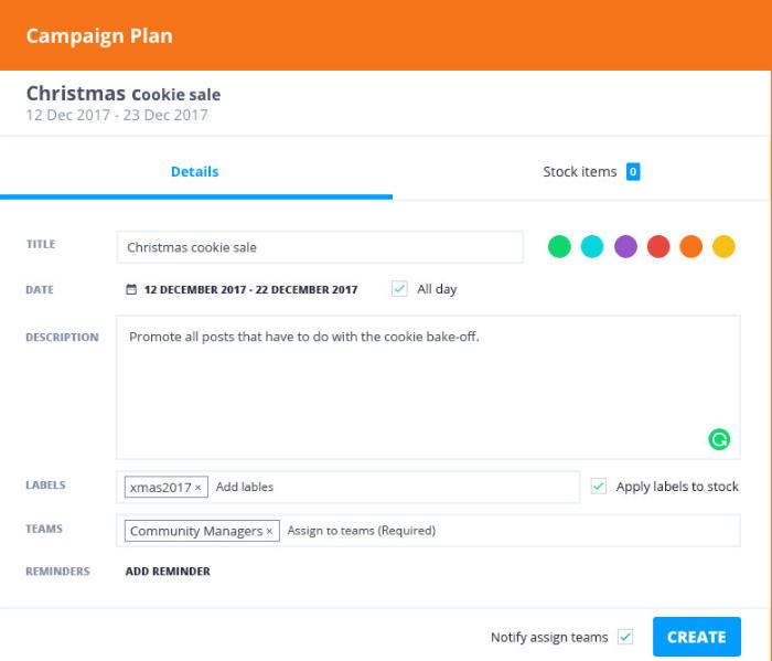 Falcon.io Software - Falcon.io campaign planner