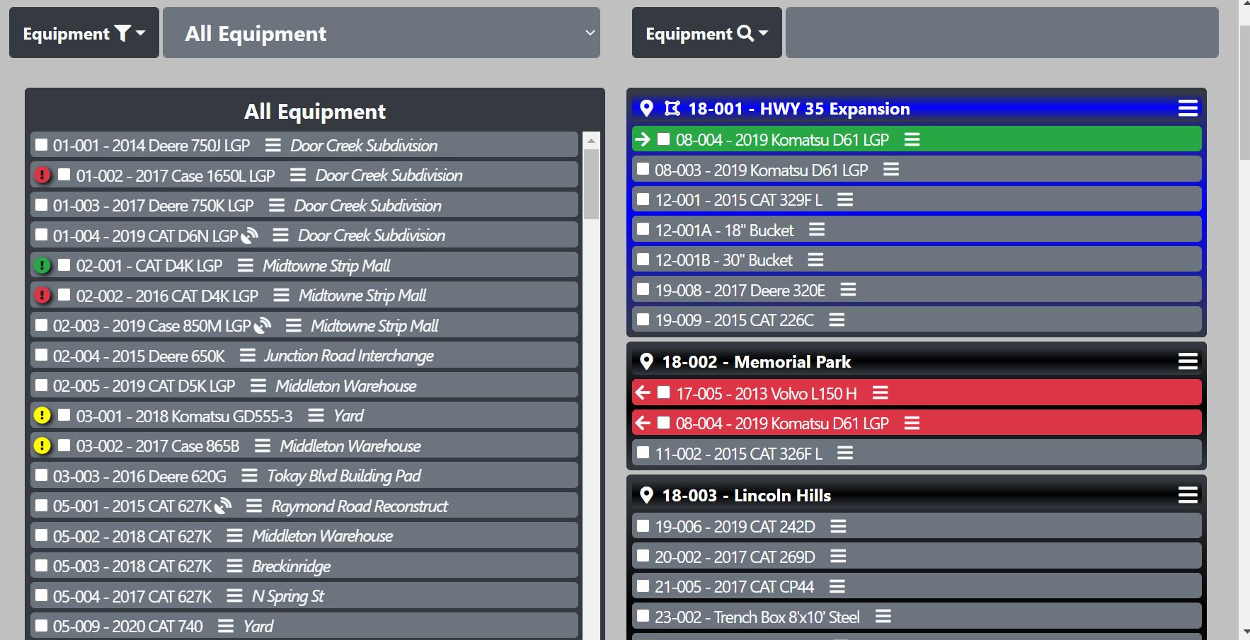 TrackVO Magnet Board