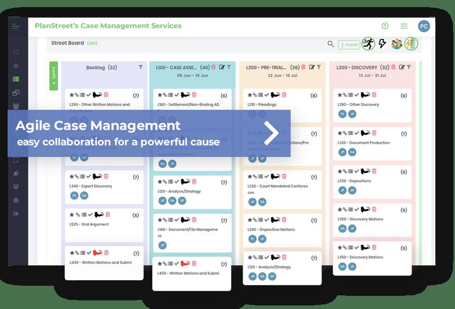 PlanStreet Agile Case Management Servcies