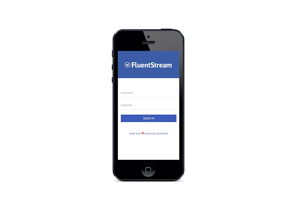 FluentStream Software - Mobile app %>