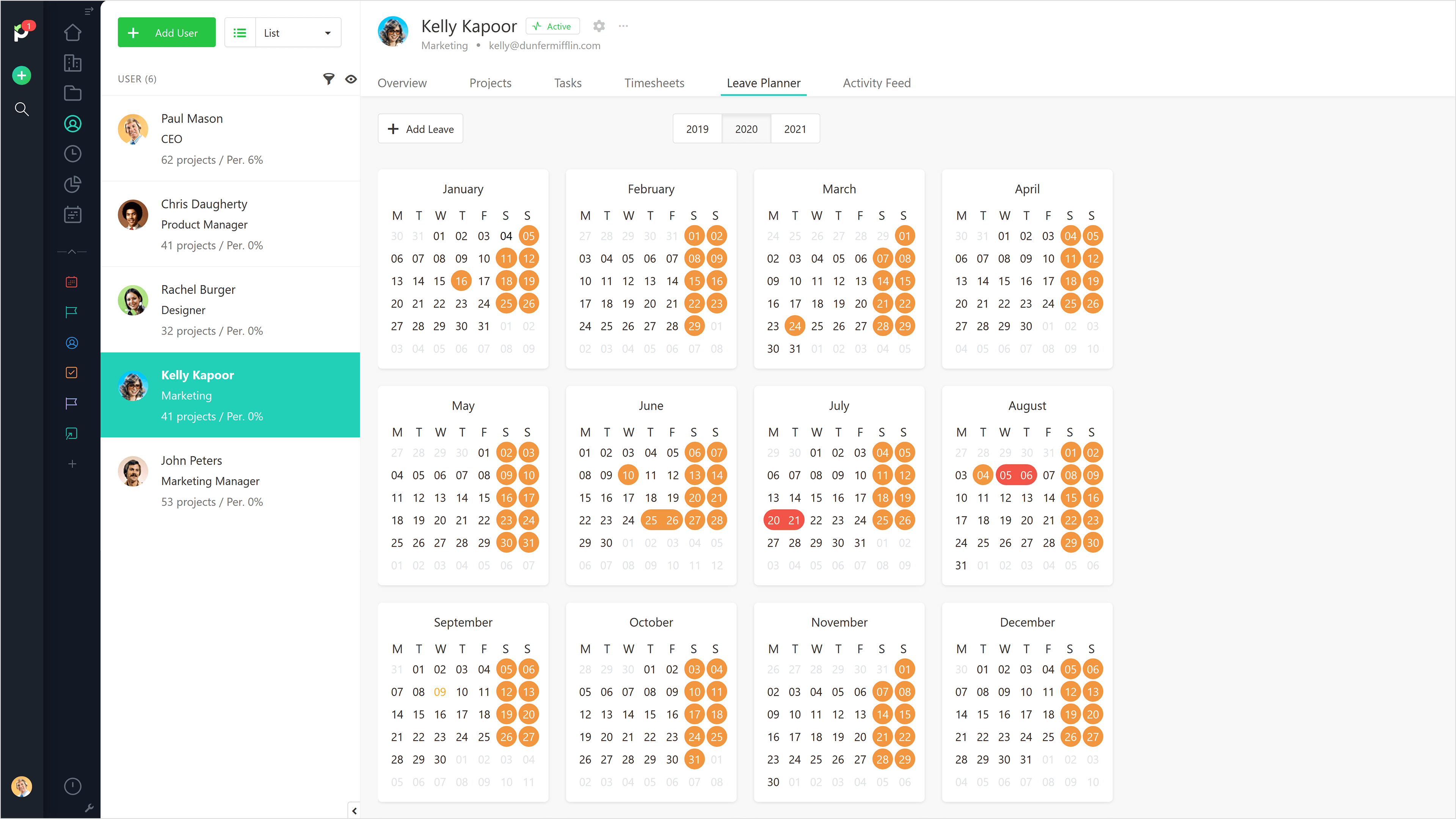 Leave Planner