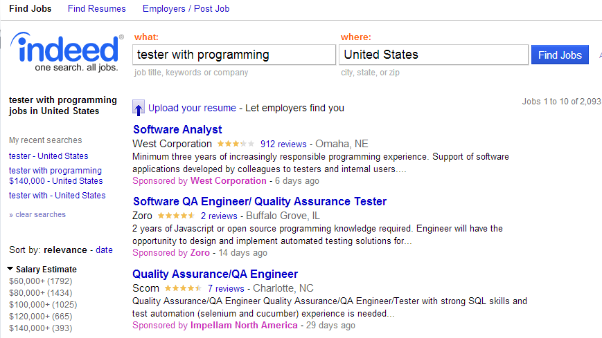 Give jobs more visibility in search results as a 'Featured Employer'
