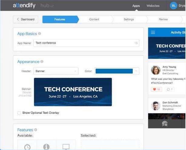 Attendify Software - Event app building