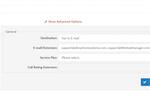 Aline Screenshot: Aline fax to email setup