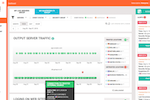 Dhound screenshot: Track and audit outgoing traffic to flag any suspicious activity