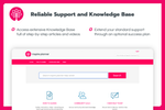 Inspire Planner screenshot: Reliable Support and Knowledge Base