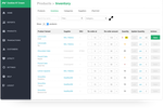 Nobly screenshot: Track inventory and process re-orders when necessary
