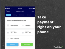 FieldPulse Software - Easy invoicing right at the jobsite