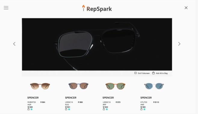 RepSpark product videos