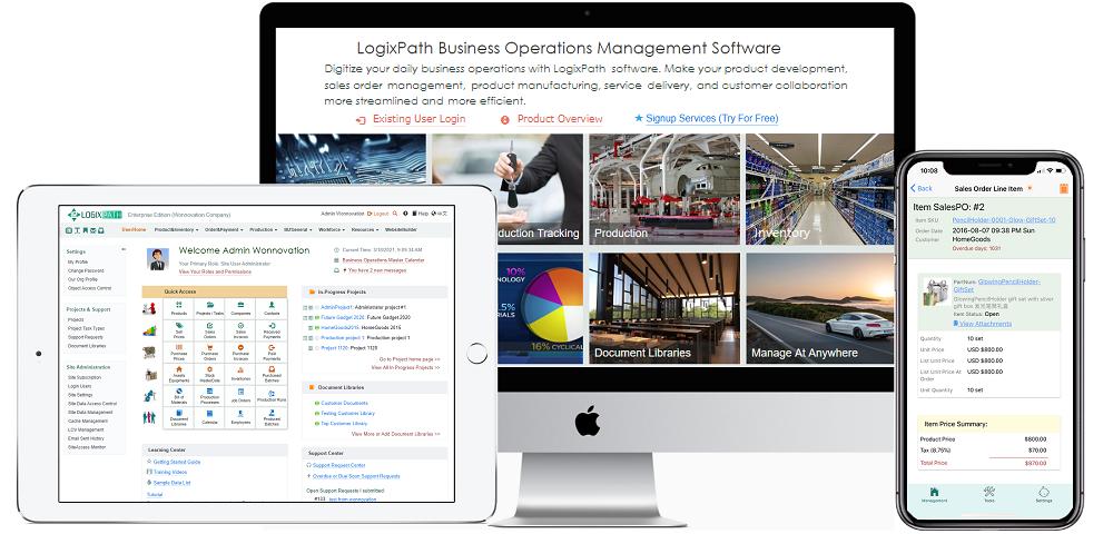 LogixPath Software Views