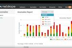 Netskope Active Platform screenshot: Netskope - Anomalies report