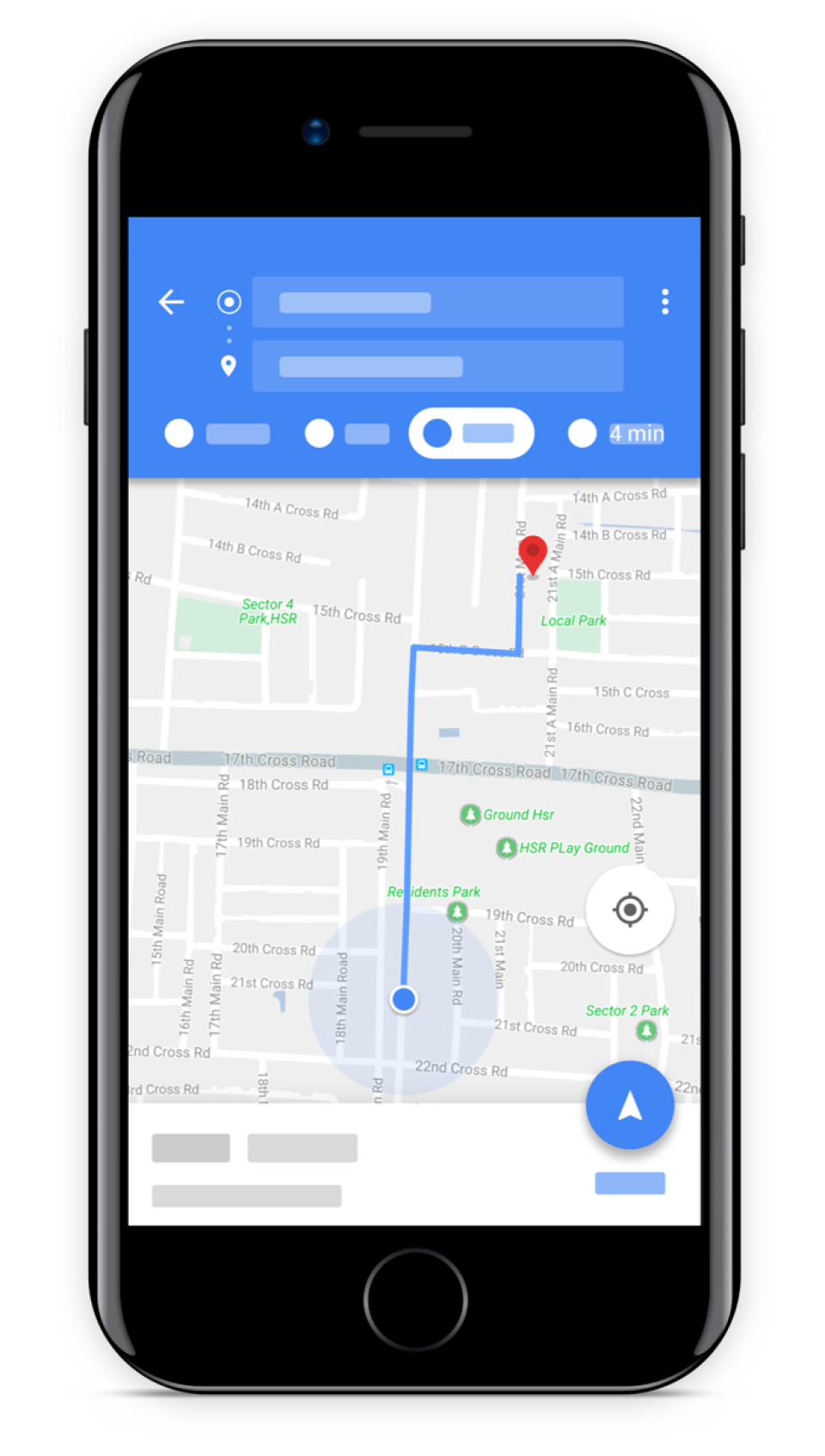 Guided navigation helps drivers to stay on-route and track ETAs