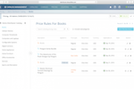 Capture d'écran pour Kloudville : The pricing management system allows users to create a range of pricing rules