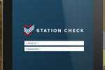 StationCheck screenshot: Login to Station Check securely with login ID and password