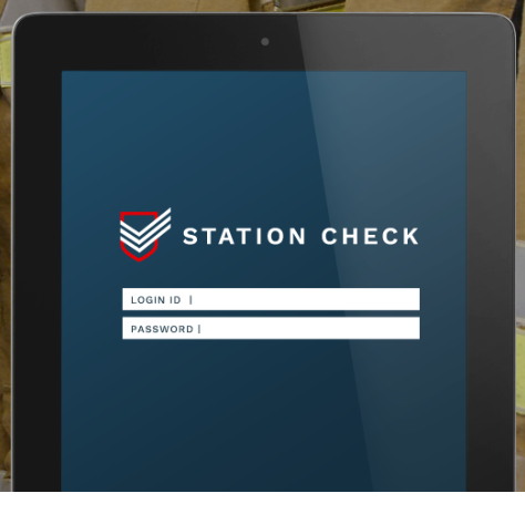 Login to Station Check securely with login ID and password