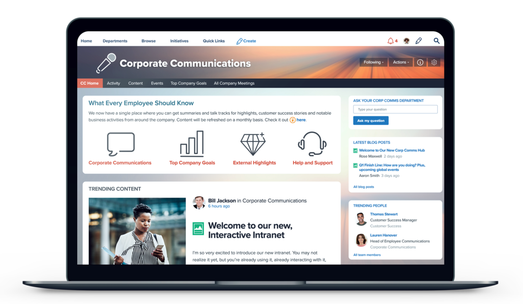 Jive - Corporate Communications