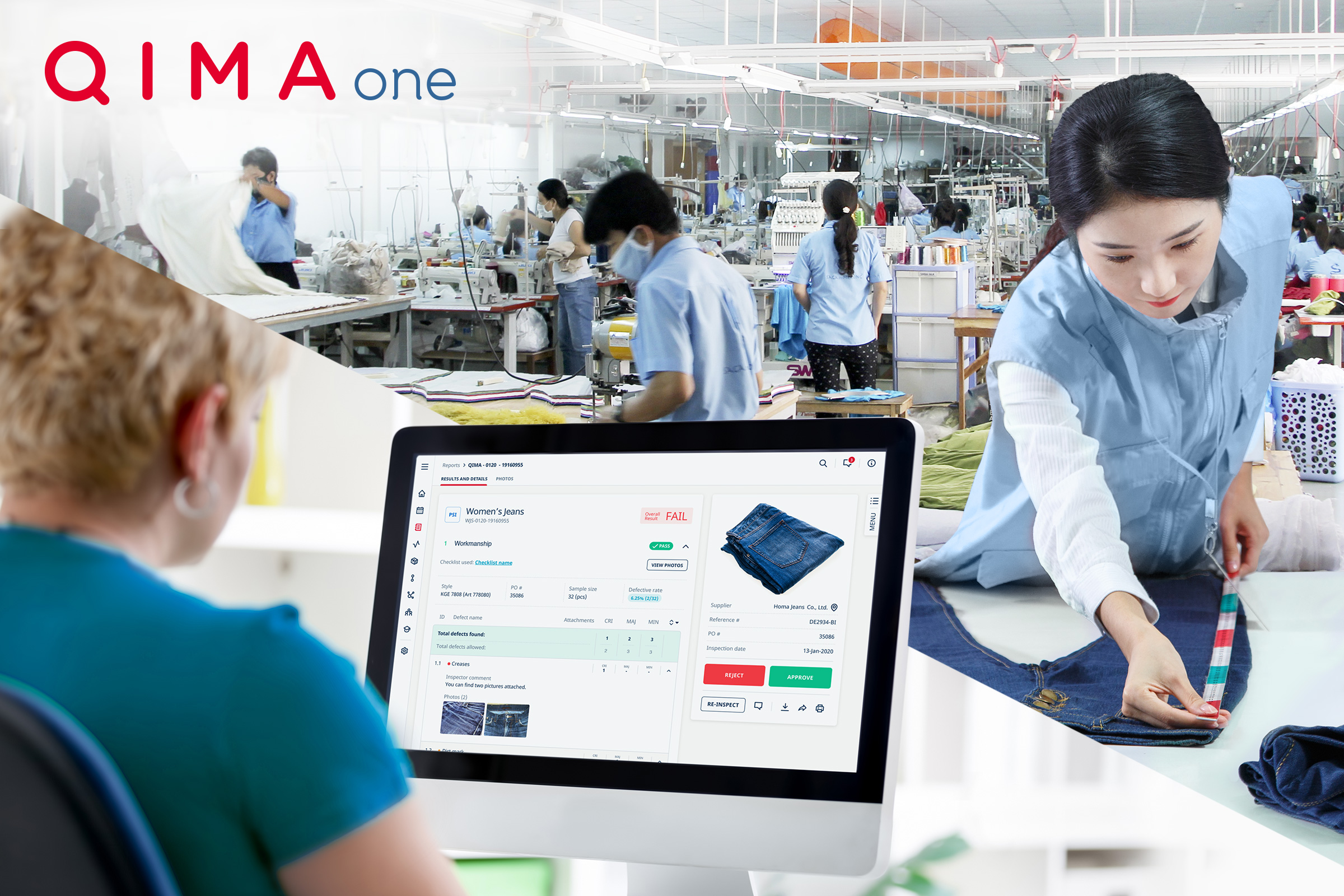 QIMAone automated inspection reporting