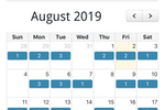 LawnPro screenshot: LawnPro calendar