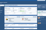 Captura de tela do Pipeliner CRM: Sales lead detail view