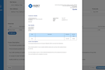 Husky AI screenshot: Create branded quotations & invoices, then print or send them immediately by email