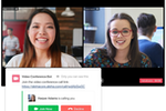 Captura de pantalla de Flock: Join video calls from within a chat or channel to connect with remote teams
