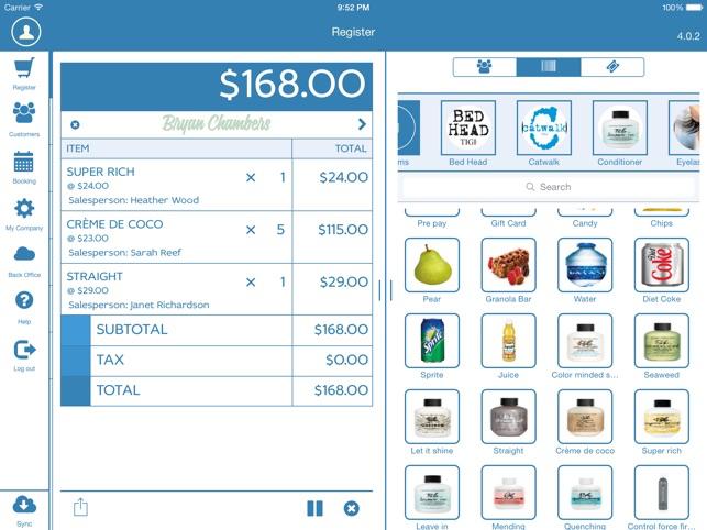Franpos POS order management screenshot