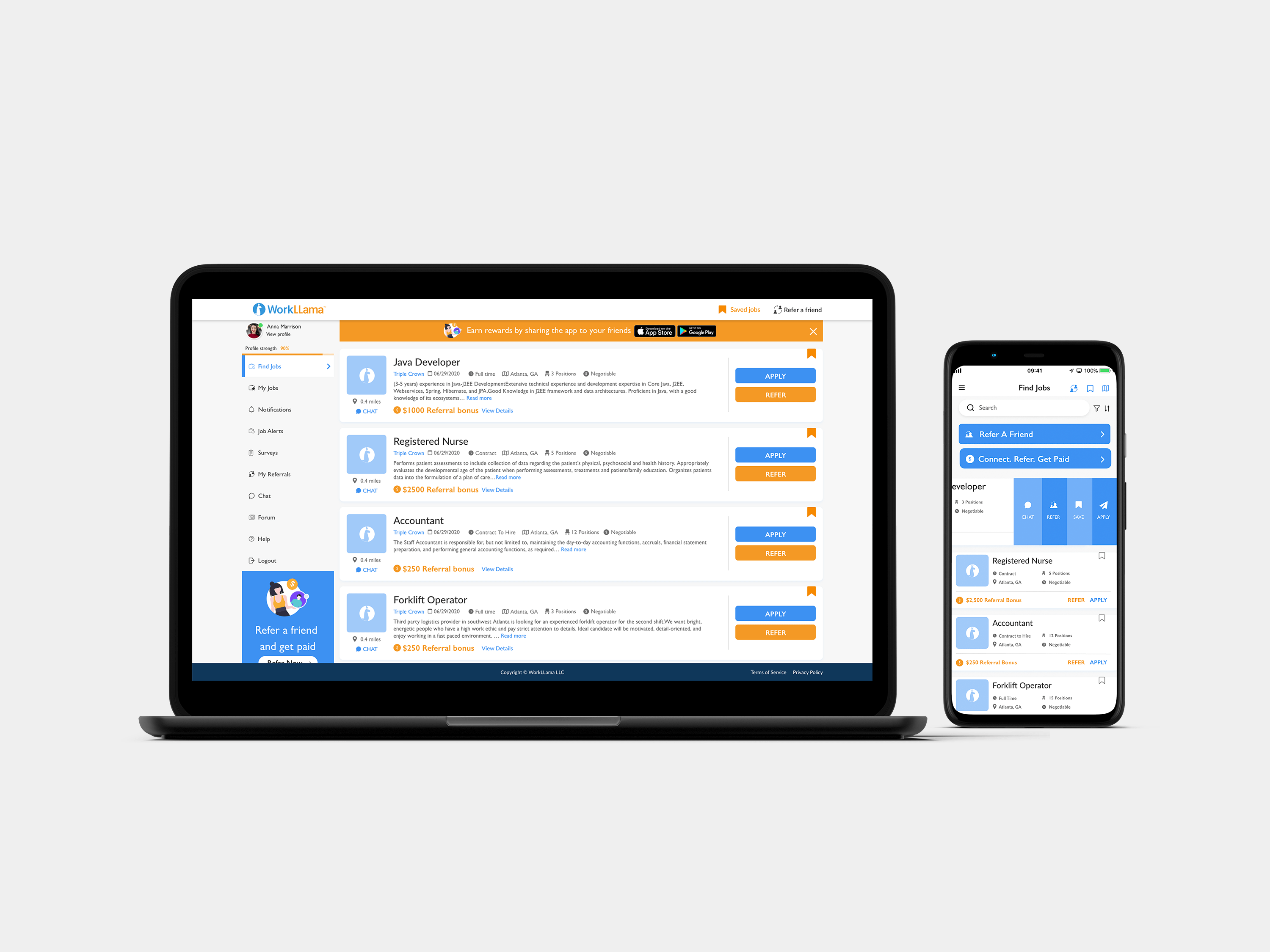 WorkLLama Software - Anytime, Anywhere, Any Device Access