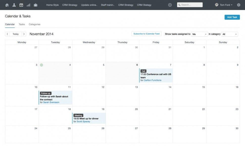 Capsule Software - Calendar