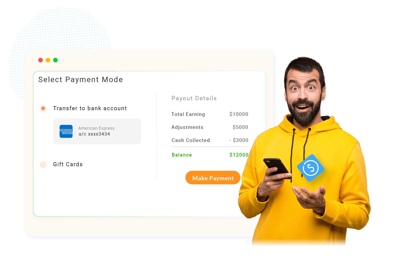 Xoxoday Compass Software - One-click Payments - Instant payments and earning visualizations for fair and transparent disbursals.
