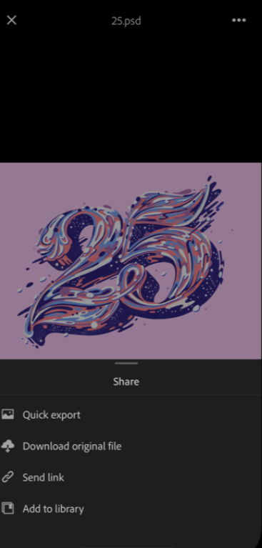 Adobe Creative Cloud share images