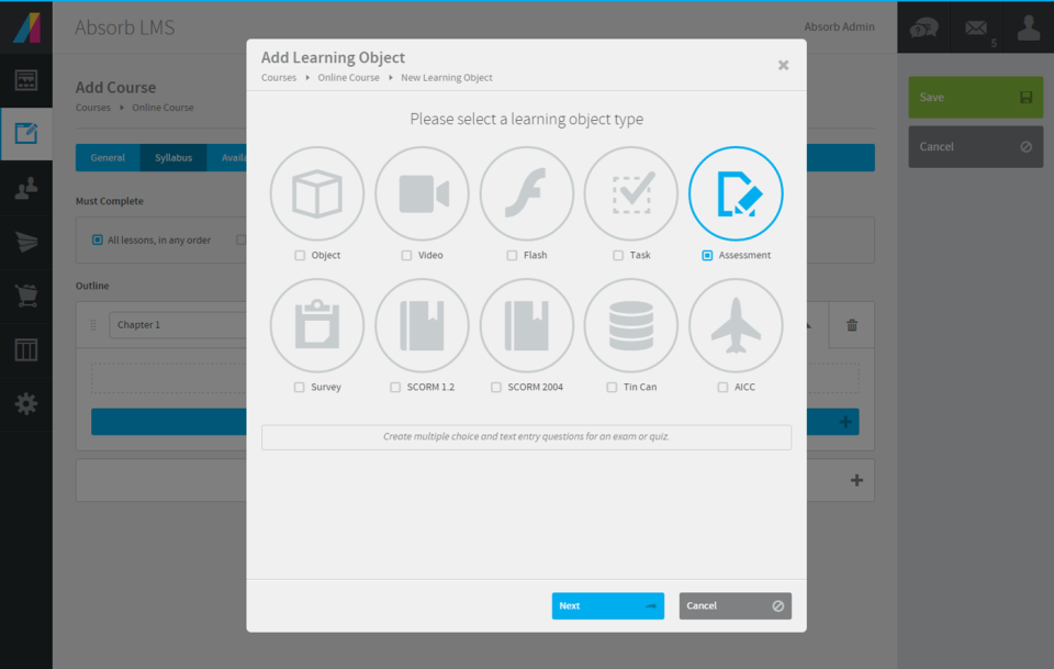 Absorb LMS Software - 3