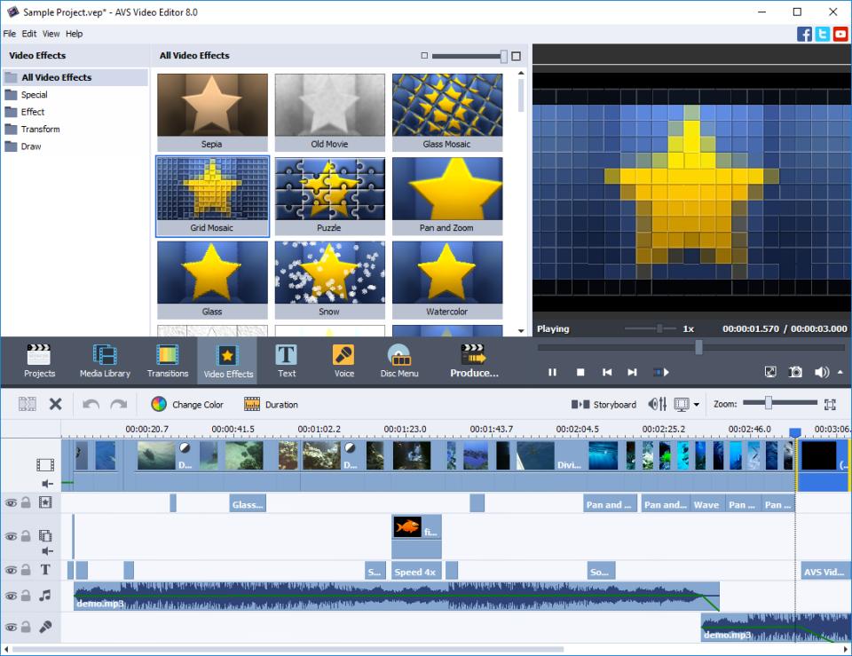 AVS Video Editor Software - 3