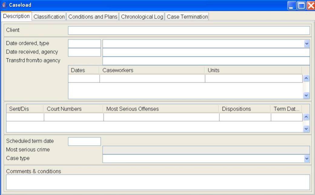 Tracker caseload