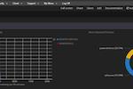 Cybrhawk SIEM ZTR screenshot: Cybrhawk SIEM ZTR security dashboard